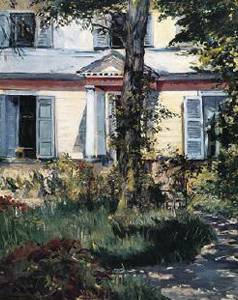 Villa at Rueil - Edouard Manet