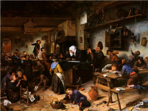 Village School - Jan Steen