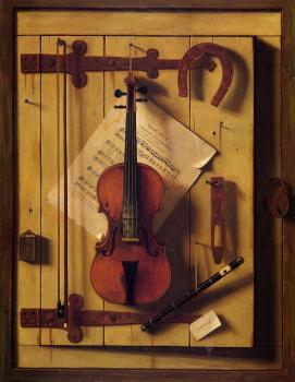 Violin and Music - William Harnett