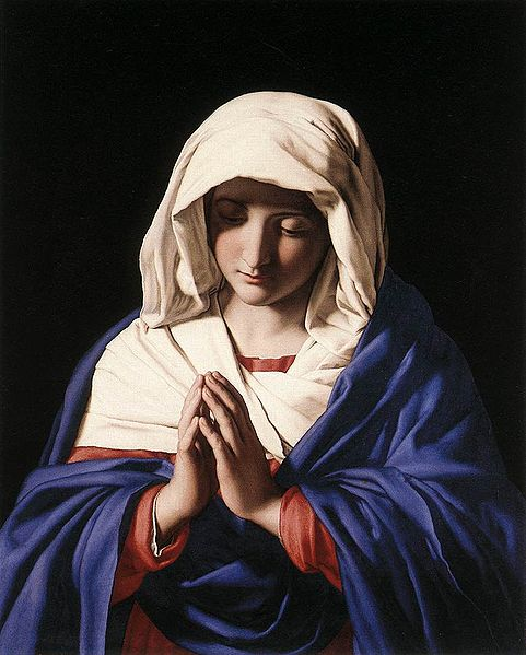 Virgin in Prayer - Sassoferrato