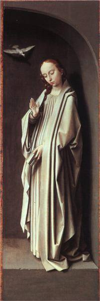 Virgin of the Annunciation - Gerard David