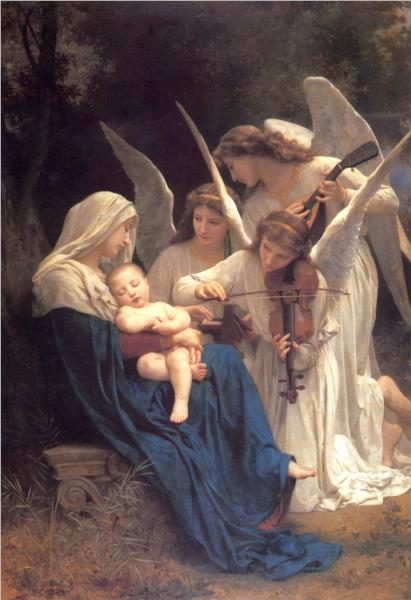 Song of the Angels - William Adolphe Bouguereau