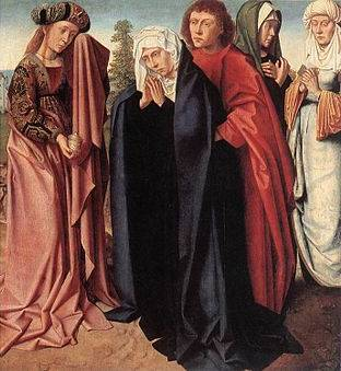 Virgin, Holy Women and St John at Golgotha - Gerard David
