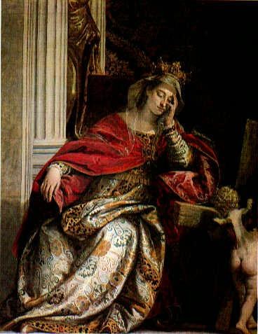 Vision of Saint Helena - Paolo Veronese