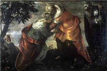 Visitation - Jacopo Robusti Comin Tintoretto