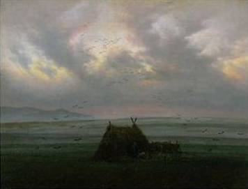 Waft of Mist - Caspar David Friedrich