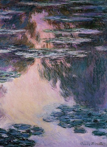 Water Lilies 1908 (Bridgestone Museum) - Claude Monet