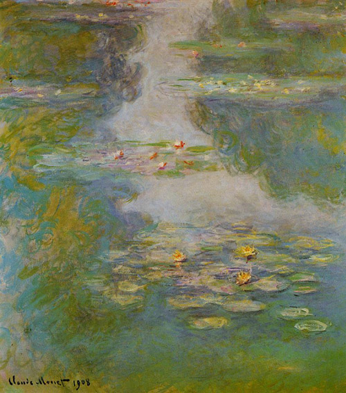 Water Lilies IV 1908 - Claude Monet