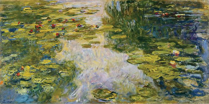 Water Lilies 1917 1919 - Claude Monet