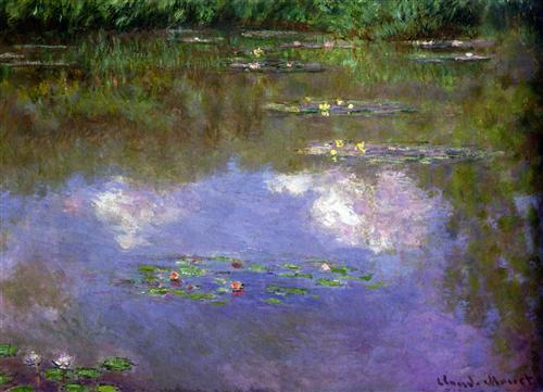 Water Lilies The Clouds 1903 - Claude Monet