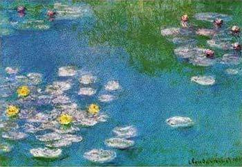 Claude Monet - Water Lilies V 1908