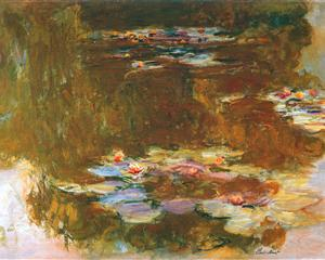 Water Lily Pond 1917 - Claude Monet