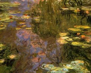 Water Lily Pond 1917-1919 - Claude Monet