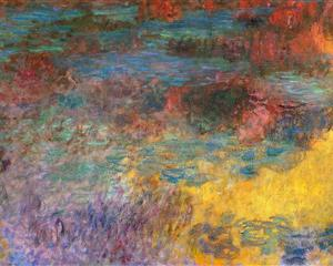 Water Lily Pond Evening 1920-1925 - Claude Monet