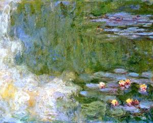 Water Lily Pond II 1917-1919 - Claude Monet