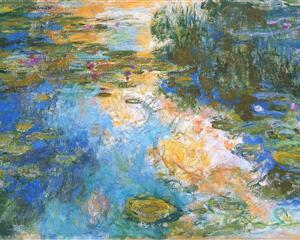 Water Lily Pond III 1917-1919 - Claude Monet