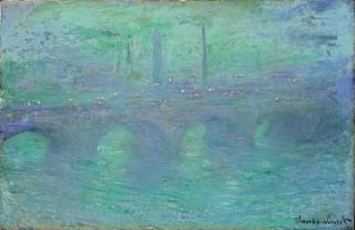 Waterloo Bridge at Dusk - Claude Monet