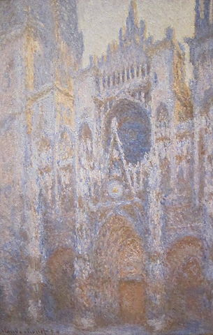 West Facade Rouen Cathedral - Claude Monet