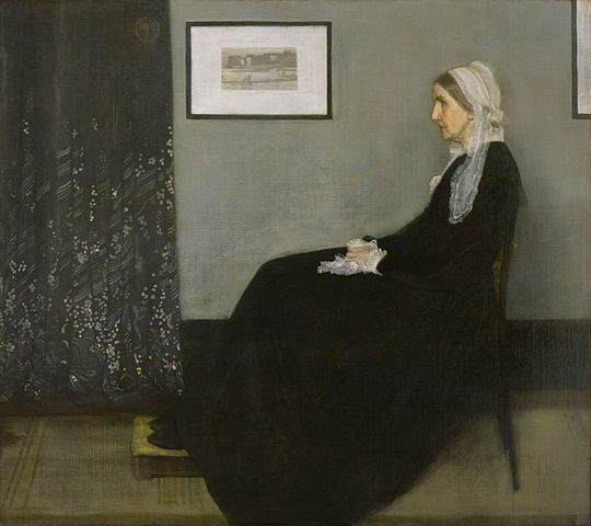 Portrait of Whistler's Mother - James McNeill Whistler