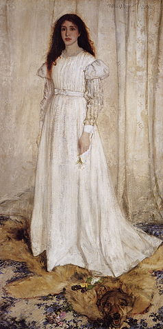 The White Girl - James McNeill Whistler