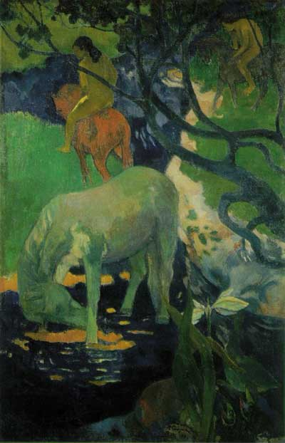 White Horse - Paul Gauguin