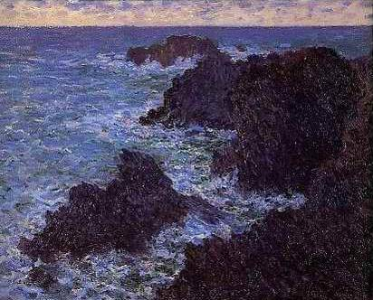 The Wild Sea - Claude Monet