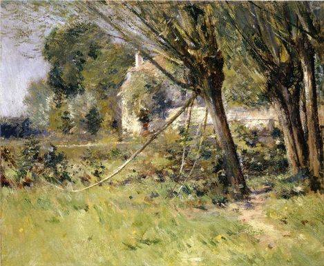 Willows - Theodore Robinson