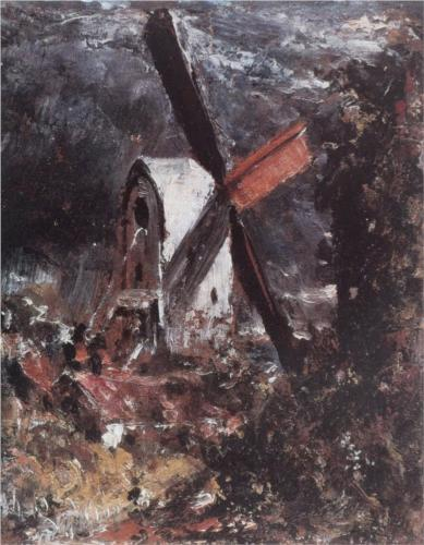 Windmill near Brighton - John Constable
