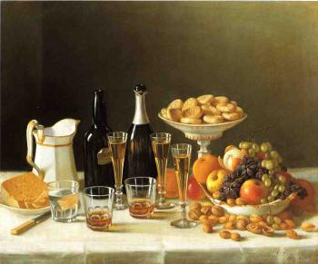 Wine, Cheese and Fruit - John F Francis