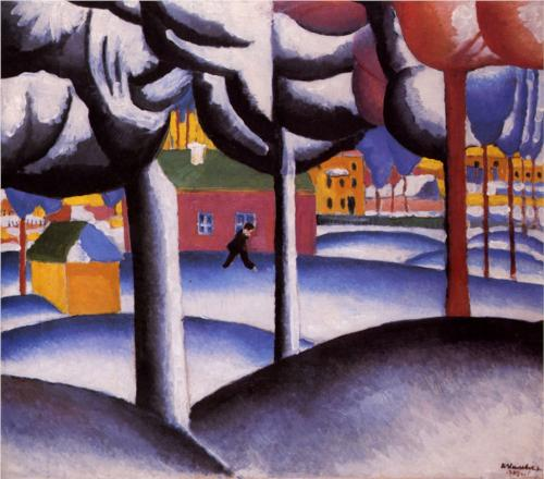 Winter - Kazimir Malevich