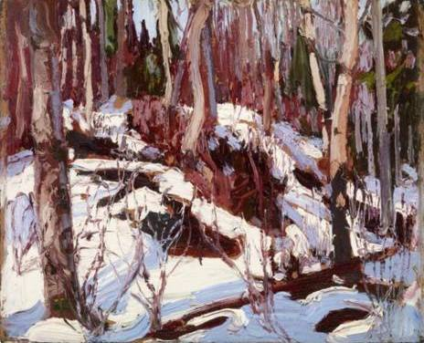 Winter Thaw in the Woods - Tom Thomson