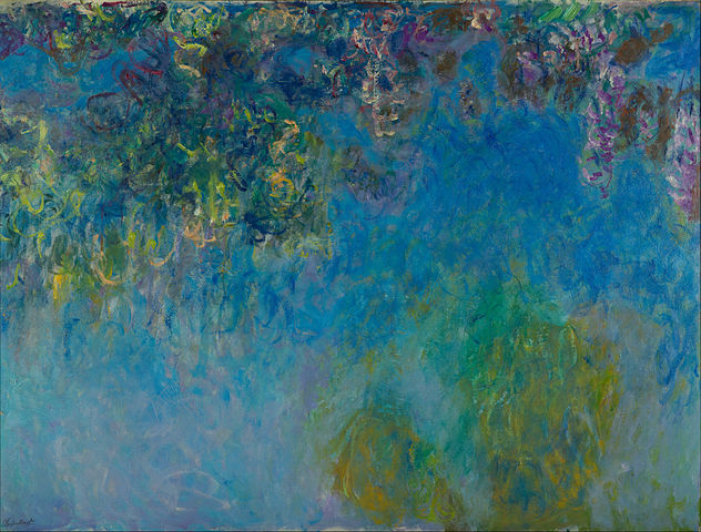 Wisteria 1925 - Claude Monet