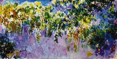 Wisteria - Claude Monet