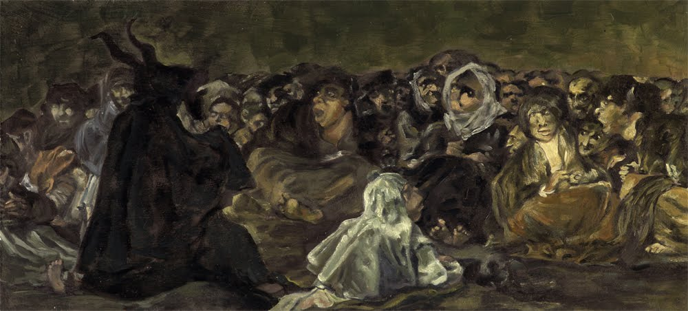 Witches Sabbath - Francisco Goya