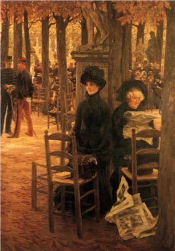 Without a Dowry (Sunday in the Luxembourg Gardens) - James Tissot