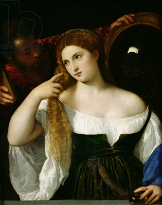 Woman at Her Toilet - Tiziano Titian Vecellio