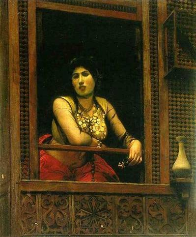 Woman at Her Window - Jean Leon Gerome