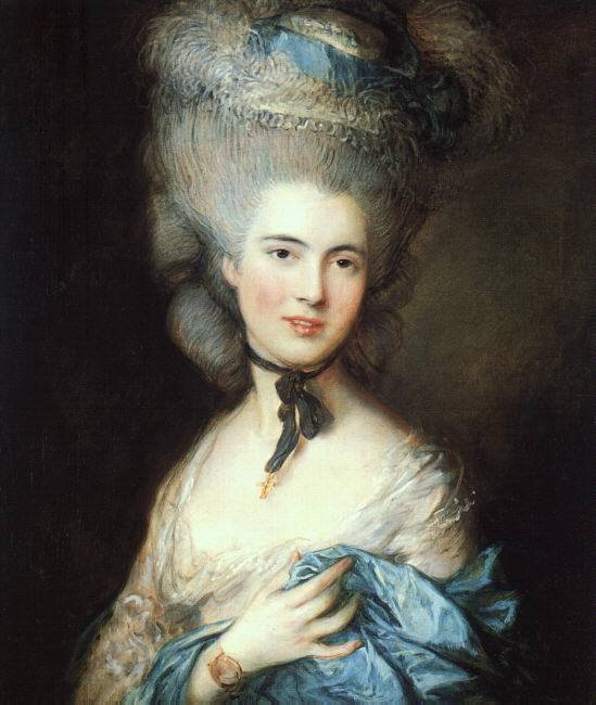 Woman in Blue - Thomas Gainsborough