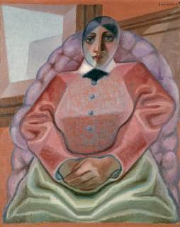 Woman in an Armchair - Juan Gris