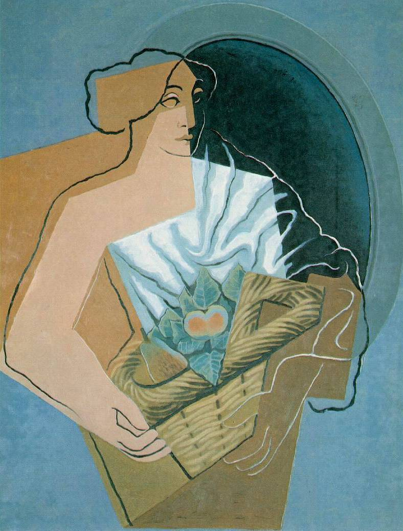 Woman with a Basket - Juan Gris
