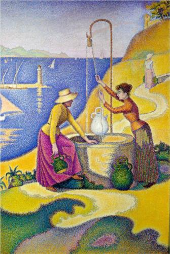 Women at the Well - Paul Signac