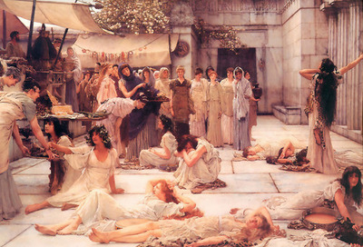 Women of Amphissa - Lawrence Alma Tadema