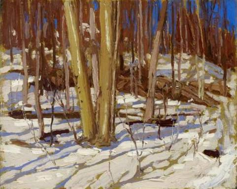 Wooden Landscape - Tom Thomson