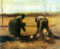 Work in the Fields - Vincent van Gogh