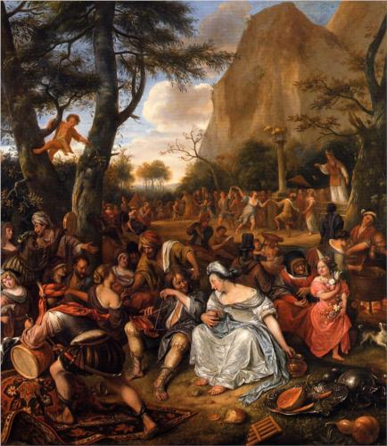 Worship of the Golden Calf - Jan Steen