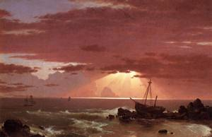 The Wreck 1852 - Frederic Edwin Church