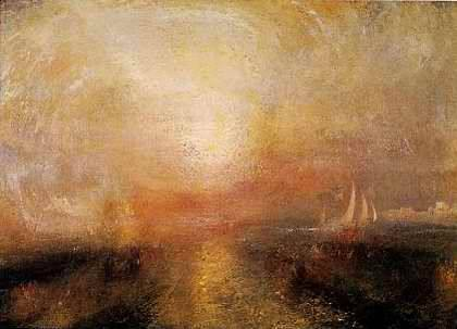 Yacht Approaching the Coast - Joseph MW Turner