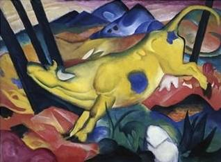 Yellow Cow - Franz Marc