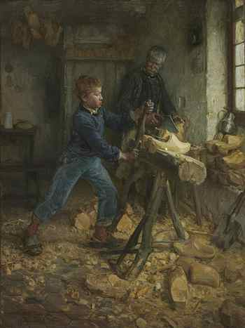 Young Sabot Maker - Henry Ossawa Tanner