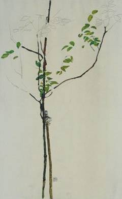 Young Tree - Egon Schiele